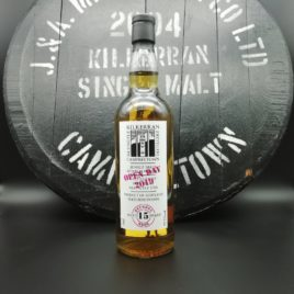Kilkerran Open Day 2019 Refill Bourbon Casks 57,1%