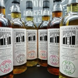Kilkerran First 6 Casks 2004 10 year old - all six bottles