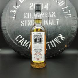 Kilkerran First 6 Casks 2004 10 year old - #3 Bourbon Cask