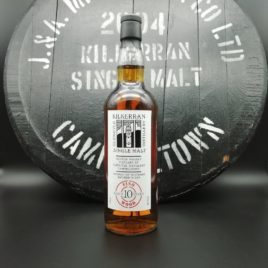 Kilkerran First 6 Casks 2004 10 year old - #4 Fino Sherry Cask