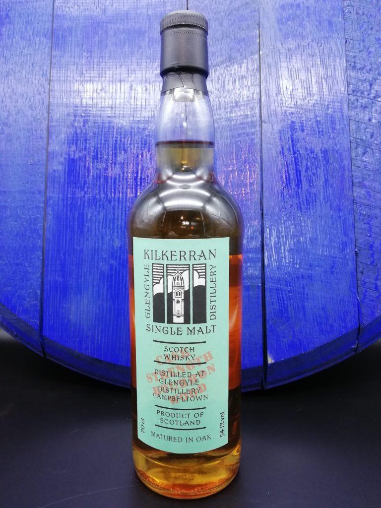 Kilkerran Work in Progress WIP 7 Bourbon