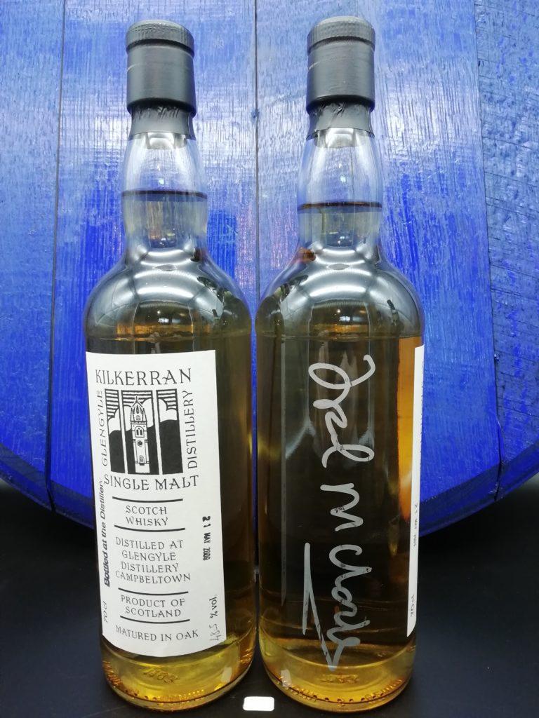 Kilkerran Open Day 2009 Bourbon Cask 48,5% signed