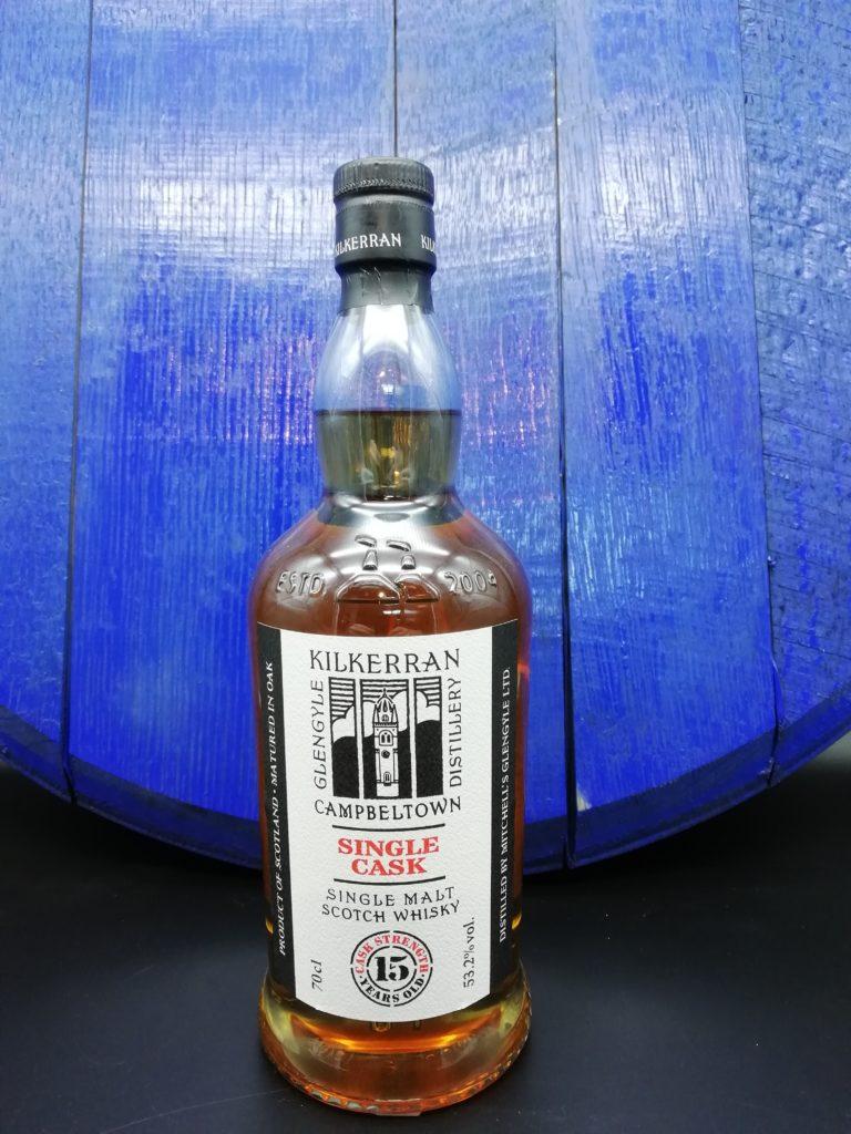 Kilkerran 15th Anniversary 53,2% Rum Barrel 324 Flaschen