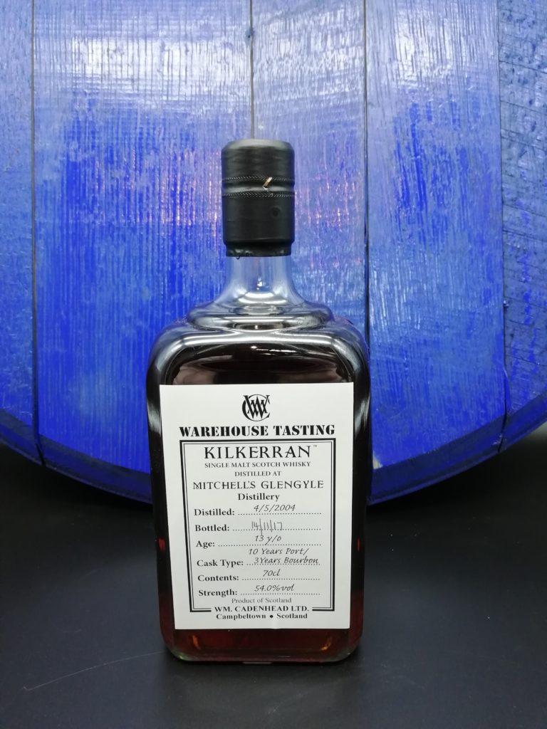 Kilkerran 2006 Warehouse Tasting 13 Jahre Port + Bourbon Cask 54,0%