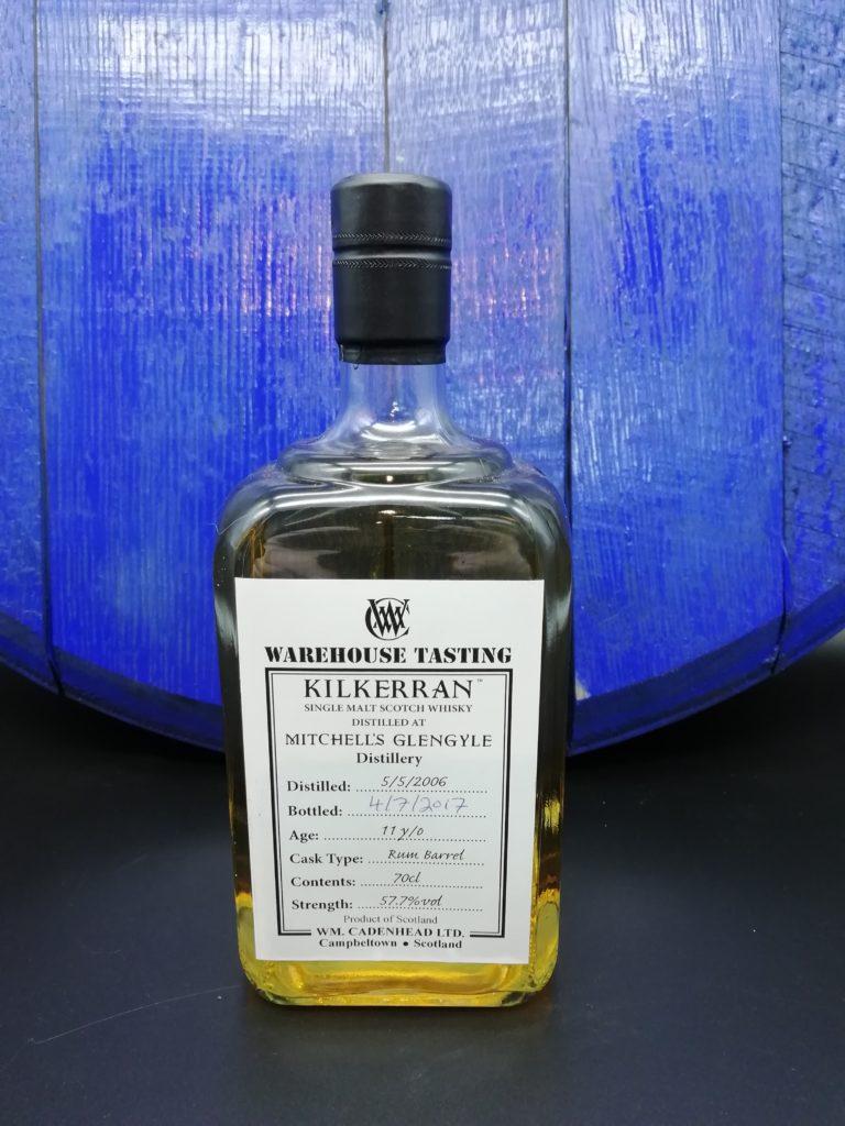 Kilkerran 2006 Warehouse Tasting 11 Jahre Rum Barrel 57,7%