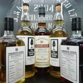 diverse Kilkerran Cadenhead Flaschen