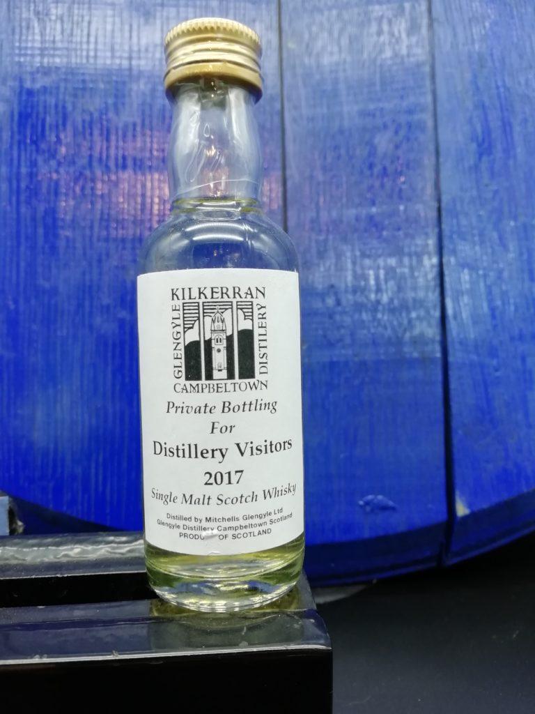 Kilkerran Mini Distillery Visitors 2017