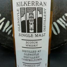 Kilkerran Work in Progress WIP 1 white front label