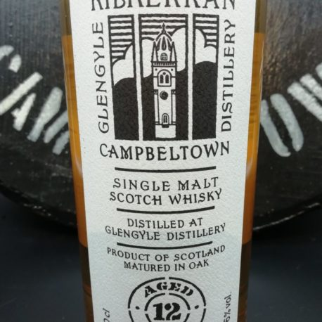 Kilkerran 12 Jahre 17/188 front label