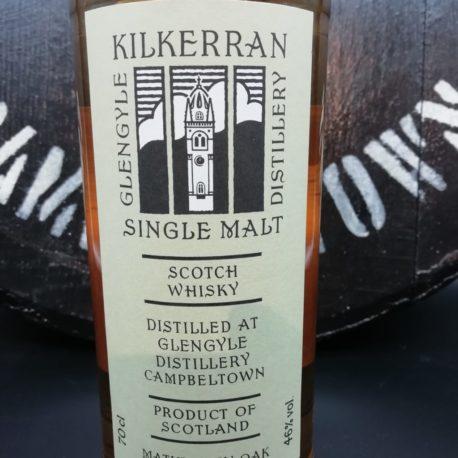 Kilkerran Work in Progress  WIP 3 Green front label