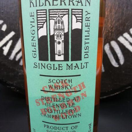 Kilkerran Work in Progress  WIP 7 bourbon front label