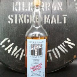 Kilkerran Work in Progress 5 Sherry front