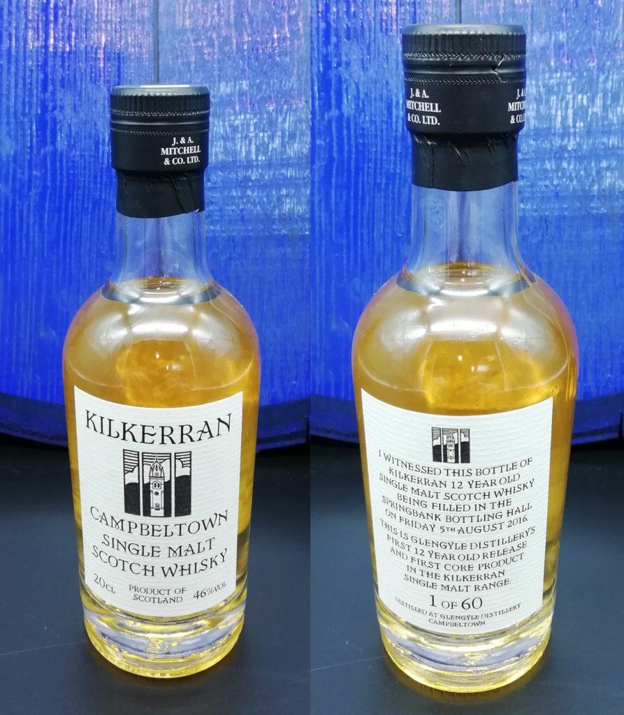 Kilkerran First 12 yo ever bottled 05.08.2016