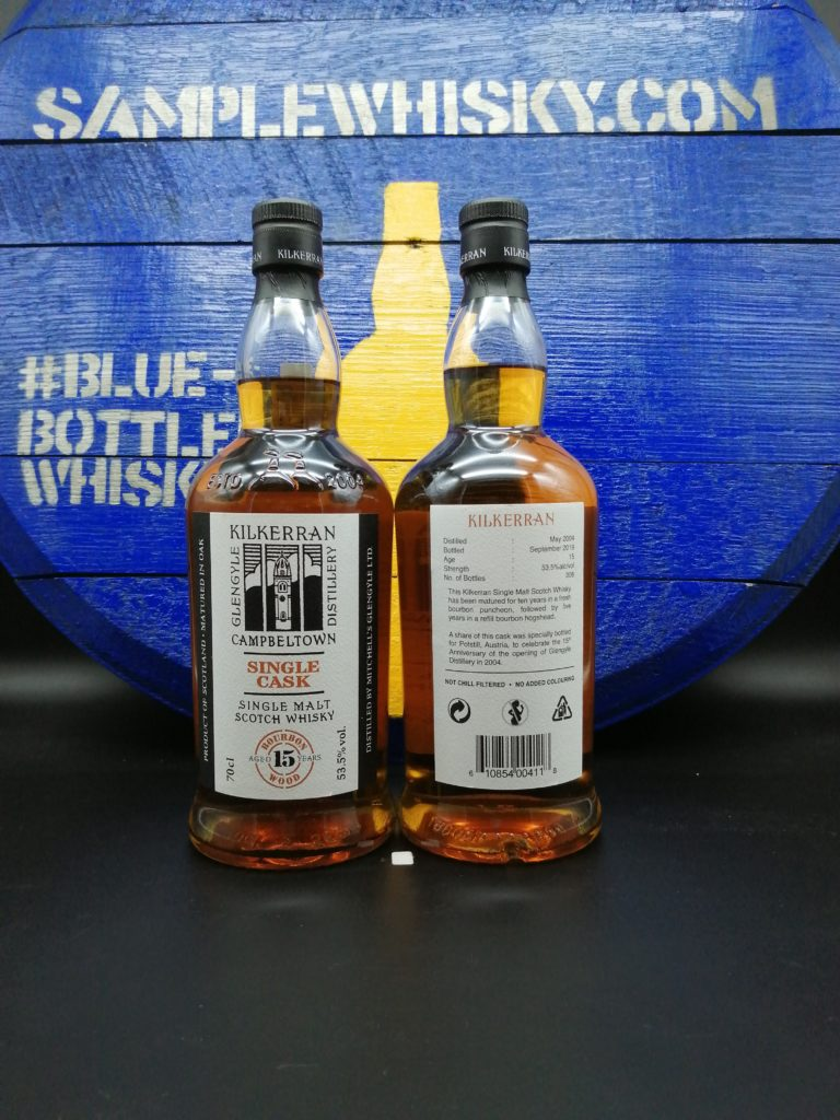Kilkerran 15 yo Austria Bourbon 53,5 Potstill